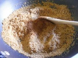Add the cinnamon