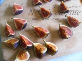 Cut the figs