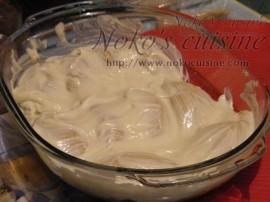 brush the dough with the yogurt